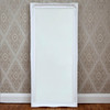 Image of Simple Classic French White Mirror