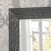 Arden Black Rectangular Mirror