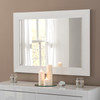 Image of Arden White Rectangular Mirror