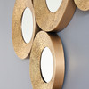 Image of Chic Gold Circles Mirror