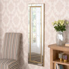 Image of Demelza All-Glass Gold Mirror