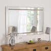 Image of Demelza All-Glass Silver Mirror