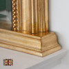 Image of Diana Antique Gold Overmantle Mirror
