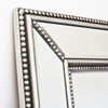 Image of Double Beaded Silver Mirror