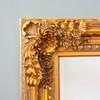 Image of Embellished Gold Design Mirror