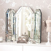 Image of Flat Top Arch Dressing Table Mirror