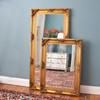 Image of Gold Flourish Ornate Mirror