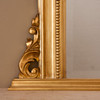Image of Isabella Antiqued Gold Overmantle