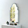 Image of Marrakesh Light Grey Arched Mirror