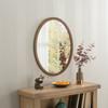 Image of Modern Oval Bronze Mirror