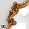 Image of Renaissance Antiqued Gold Overmantle
