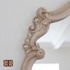 Image of Renaissance Ivory Overmantle Mirror