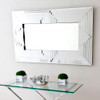 Image of Retro Art Deco Wall Mirror