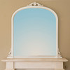 Image of Victoria Ivory Overmantle Mirror
