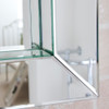 Image of All Glass Bathroom Mirror
