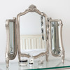 Image of Valentina Silver Dressing Table Mirror