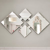 Image of Zen Contemporary Glass Mirror
