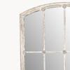 Image of Fairfield Distressed White Iron Mirror