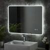 Image of Haddon LED Bathroom Illuminated Mirror