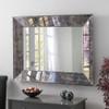 Image of vintage antiqued lunar mirror
