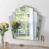 Image of Art Deco fan mirror
