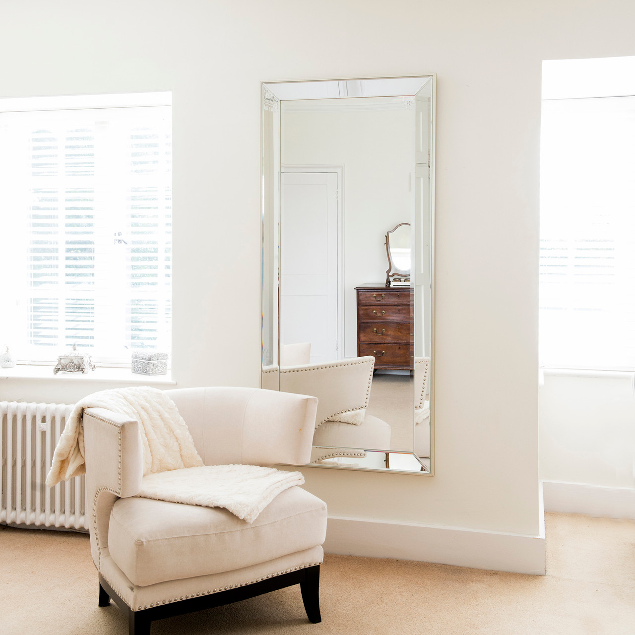 Davina Contemporary Wall Mirror
