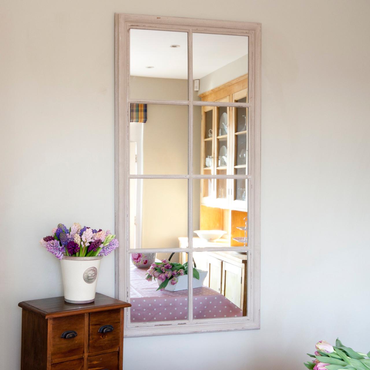 Image of Eight Pane Window Mirror