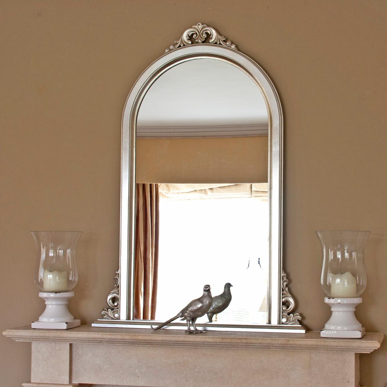Image of Emma Narrow Overmantle Mirror