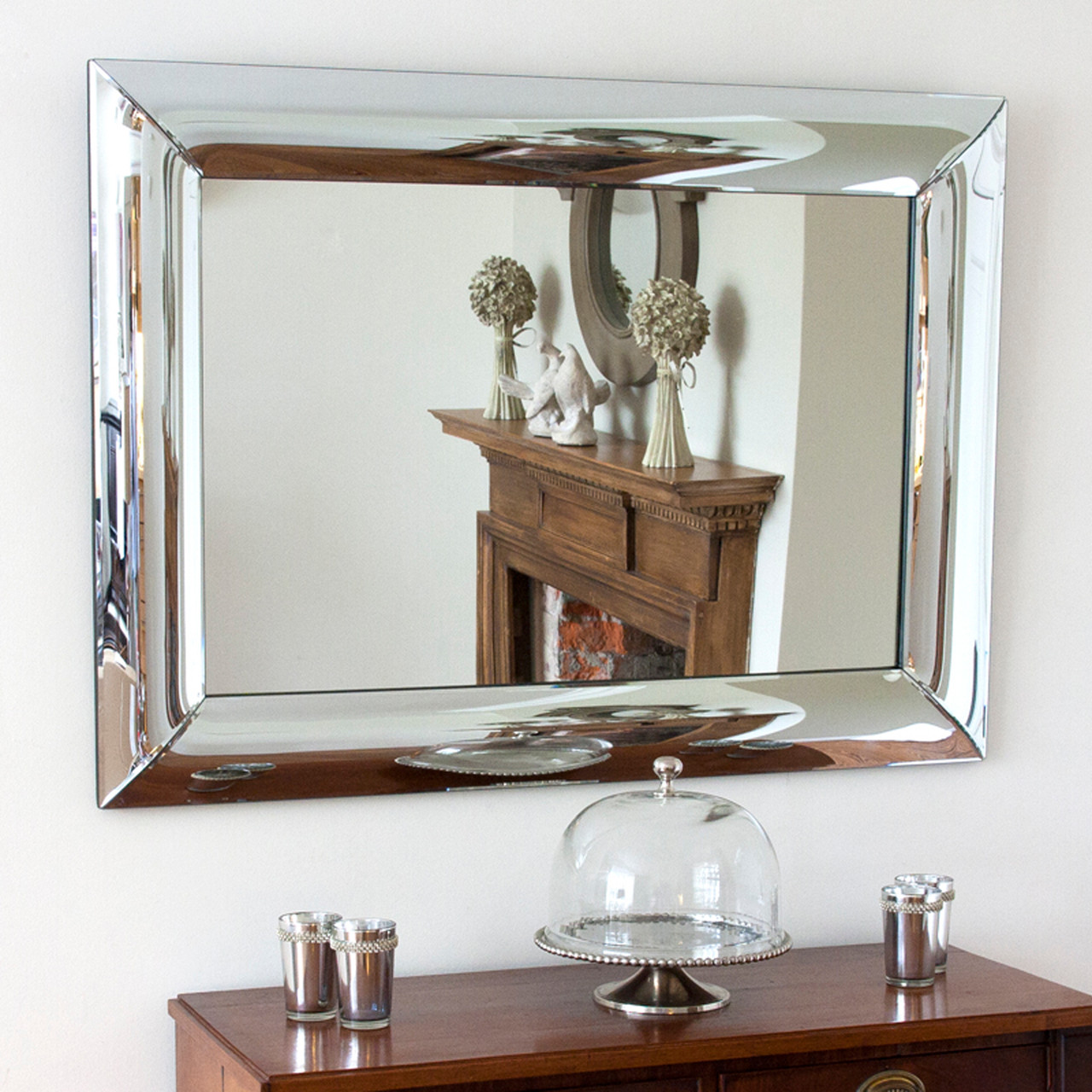 Image of Large Convex All Glass Mirror