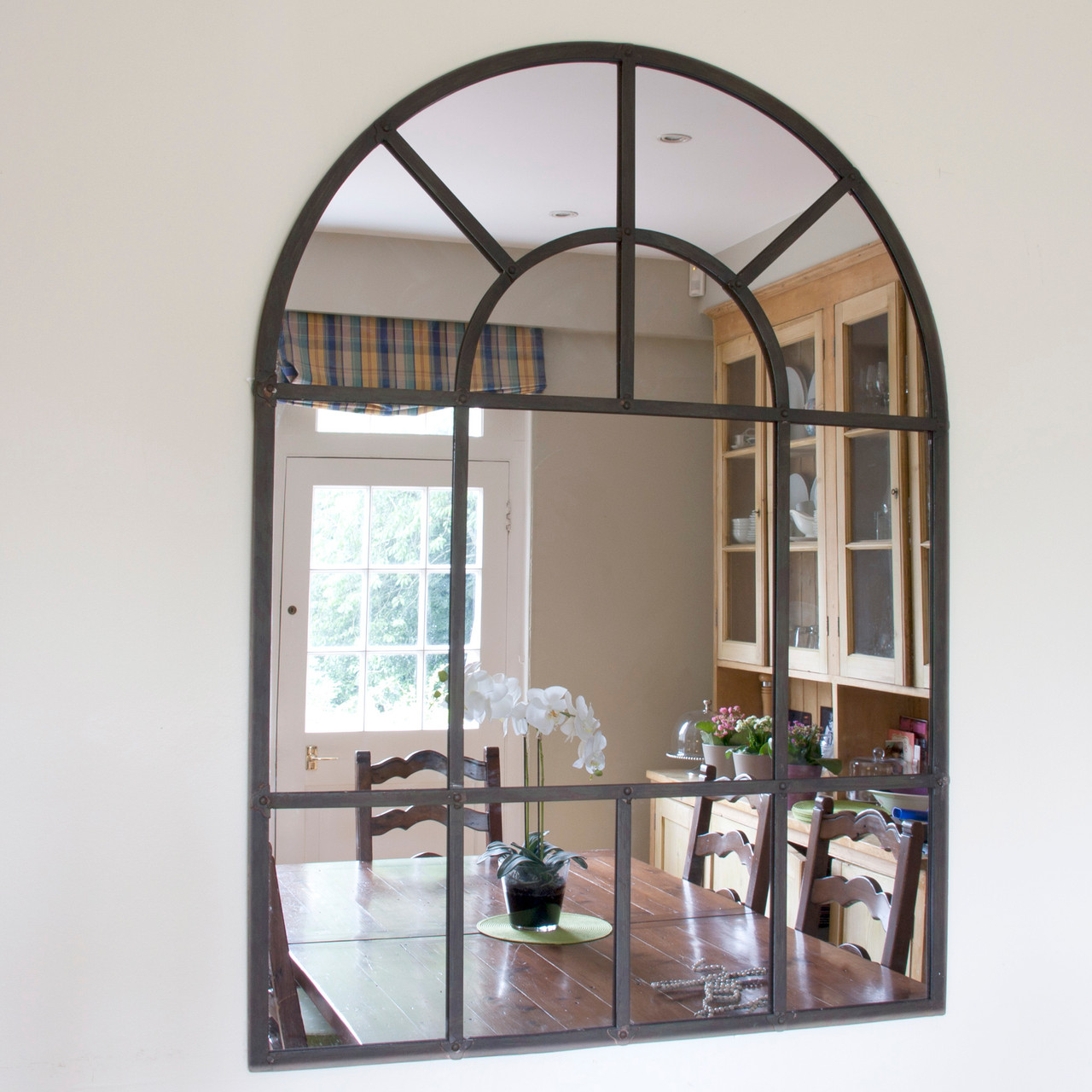 Arch Metal Mirror Metal Arch Mirrors Free Uk Delivery