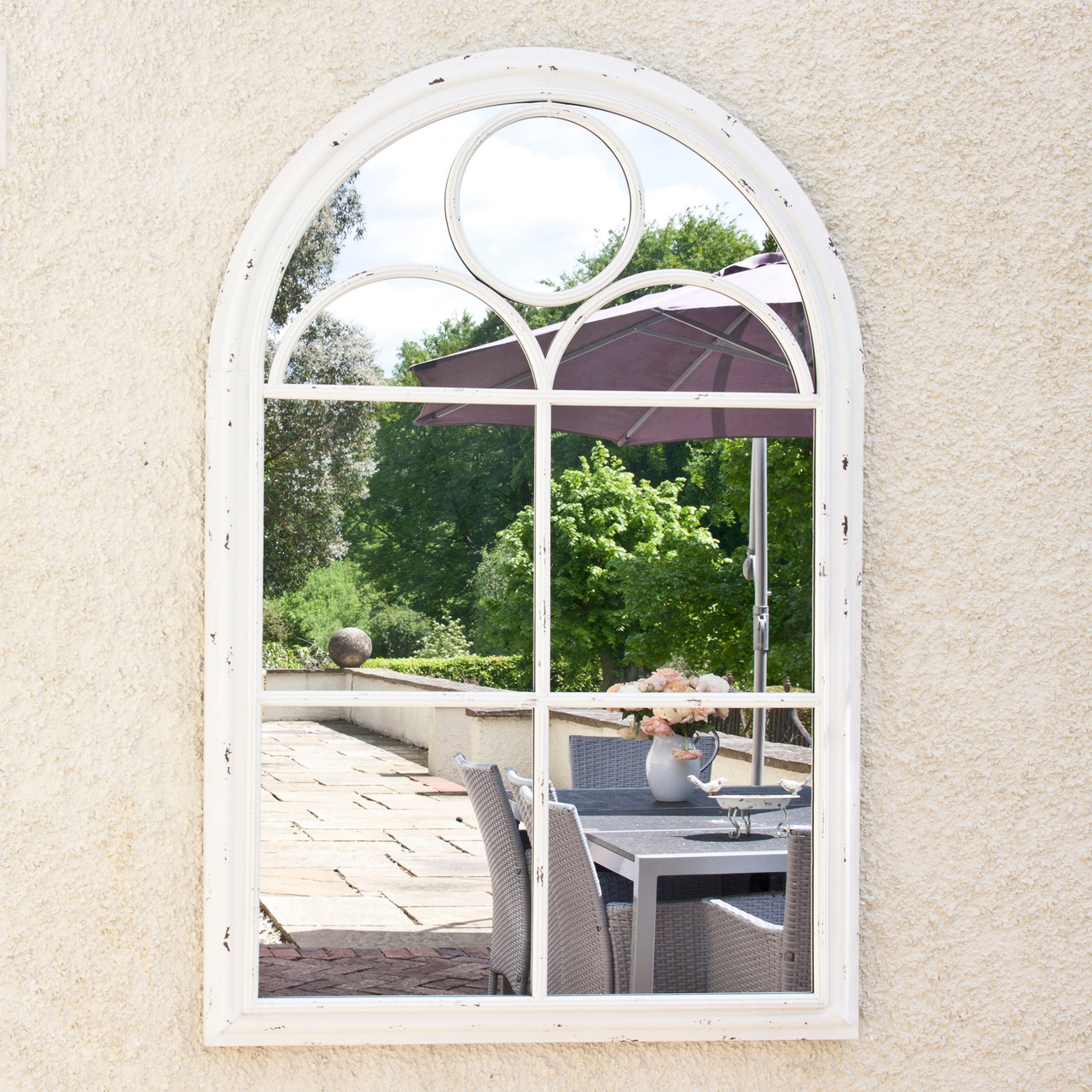Image of SAVE £60 - Fern Vintage Garden Mirror