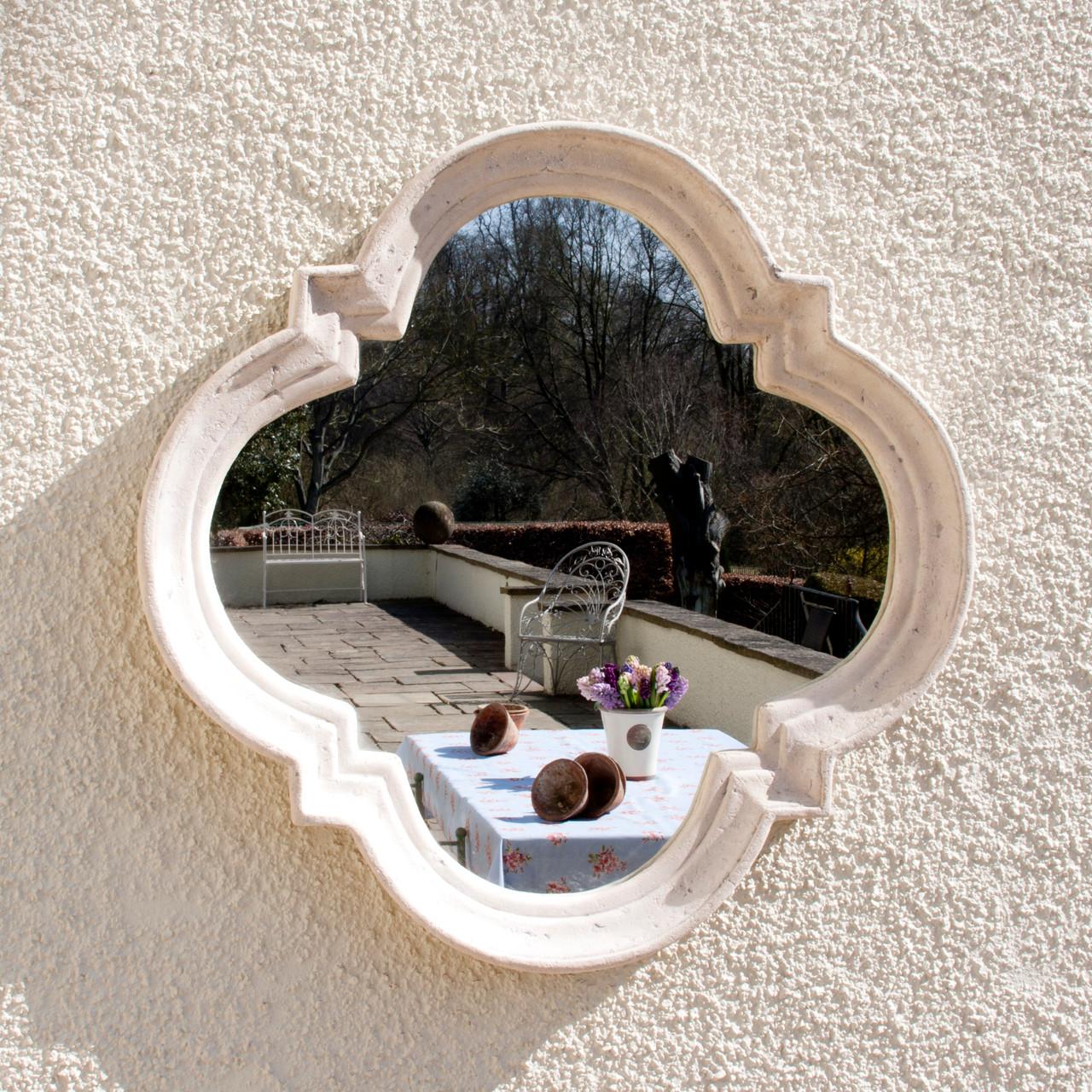 Stone Garden Mirror