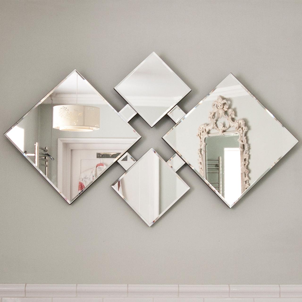 Image of Zen Contemporary Glass Mirror