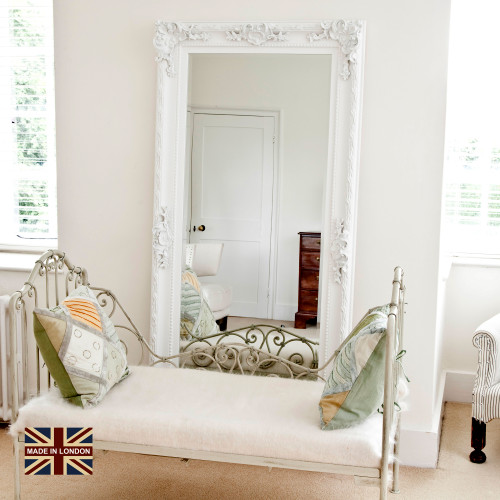 Image of Adrianne White Leaner Mirror