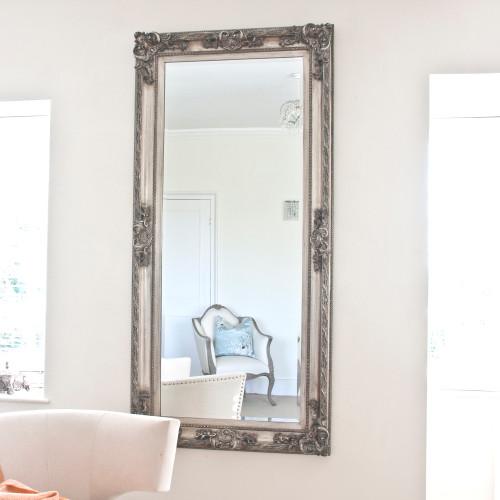 Aimee Silver Mirror