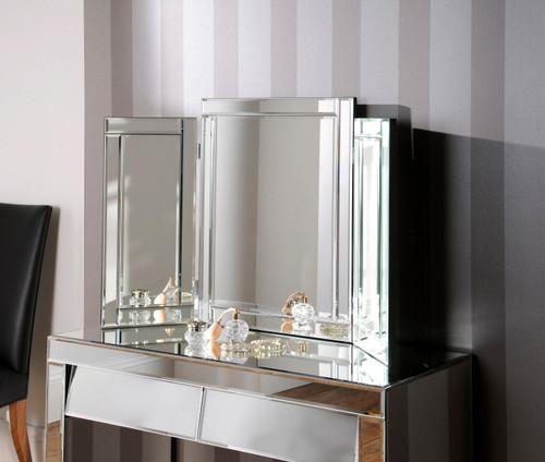 Alexa plain venetian mirror
