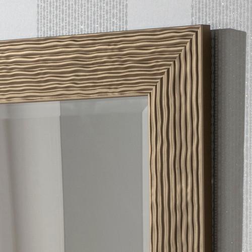 Detail of Arden Bronze Rectangular Mirror