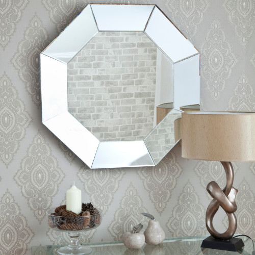 Image of Bevelled Octagonal Mirror