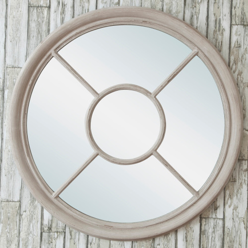 Image of Round Window Mirror