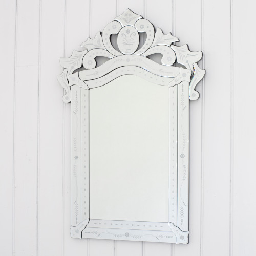 Image of Crowned Venetian Mirror