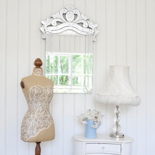 Image of Crowned Venetian Mirror