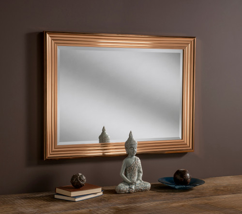 Image of Dash Copper Rectangular Mirror