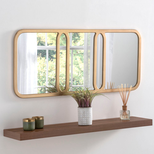 Image of Elegant Gold mirror