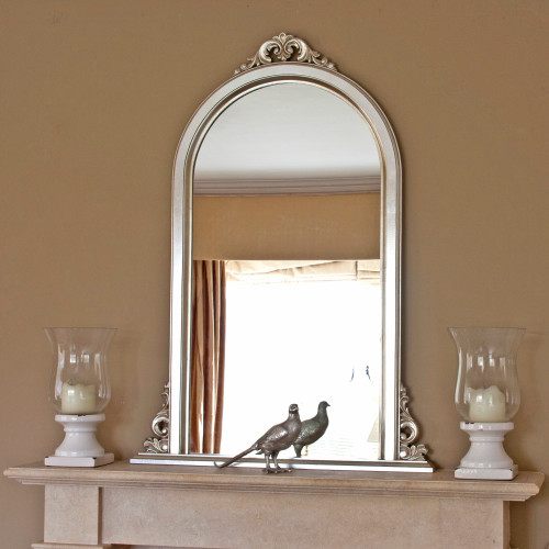 Image of Emma Narrow Overmantle Mirror