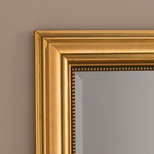 Image of Franz Gold Rectangular Mirror