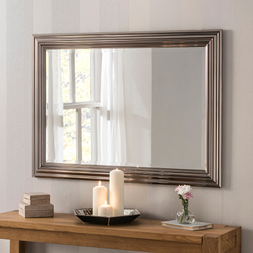 Image of Isla Chrome Rectangular Mirror