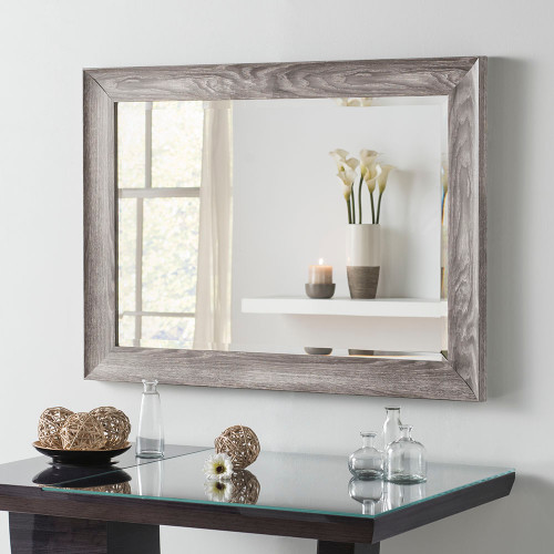 image of grey washed mirror