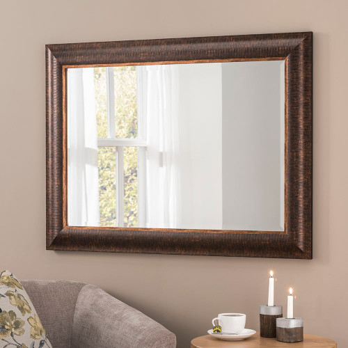 Image of Kenzie Bronze Rectangular Mirror