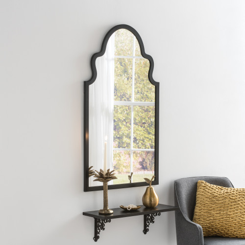 Image of Marrakesh Black Arched Mirror