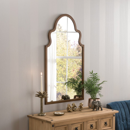 Image of Marrakesh Bronze Arched Mirror